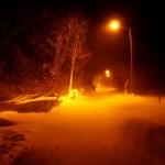 Stormig vinternatt. Stormy winter night. Kvinnsgröta, Öland