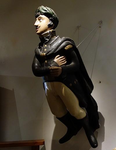 Galjonsfigurer på Göteborgs sjöfartmuseum