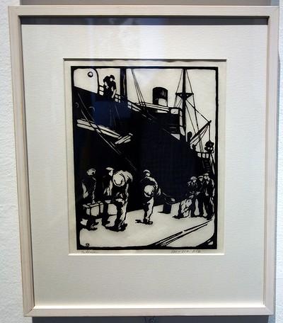 Torsten Billman på Sjöfartsmuseet