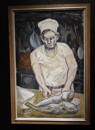Torsten Billman på Sjöfartmuseet