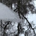 Vattenspeglingar. Water reflexions