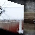 Bro över Hedströmmen. Bridge over Hedströmmen