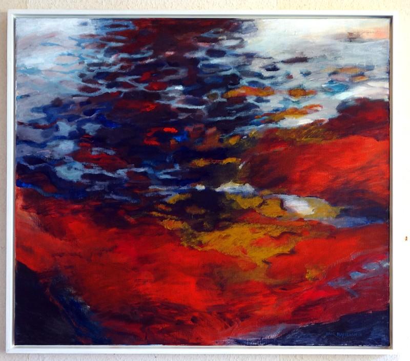 Vattenmotiv av Anne Blijdenstein