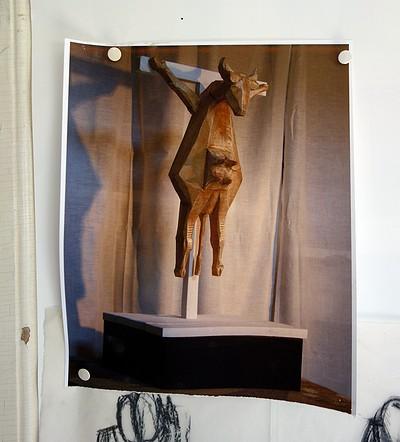 Bild av skulptur