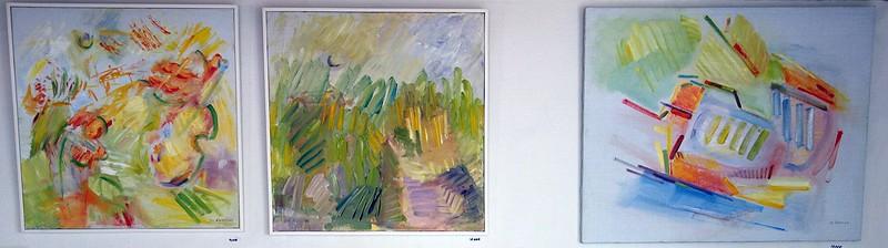 Abstrakta landskap av Siv Åsenlund