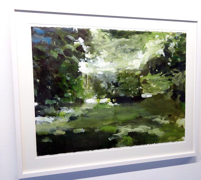 Skogsmotiv av Stephen Lawlor på Galleri Astley