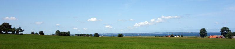 Landskapsvy från Ven.