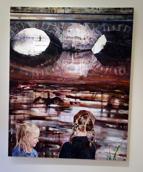Åsa Davidsson, Eyes. Visad på Eskilstuna konstmuseum oktober 2013