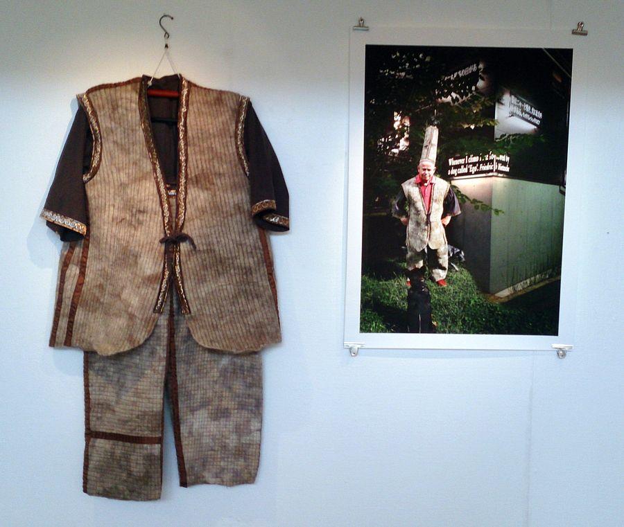 Utställning i Sandvikens konsthall 2014 med Anne Graham
