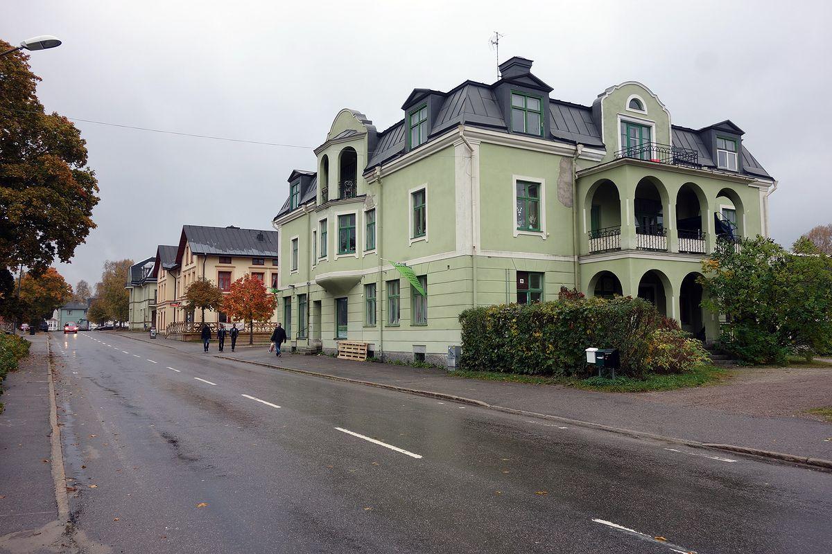 Storgatan i Bergsjö