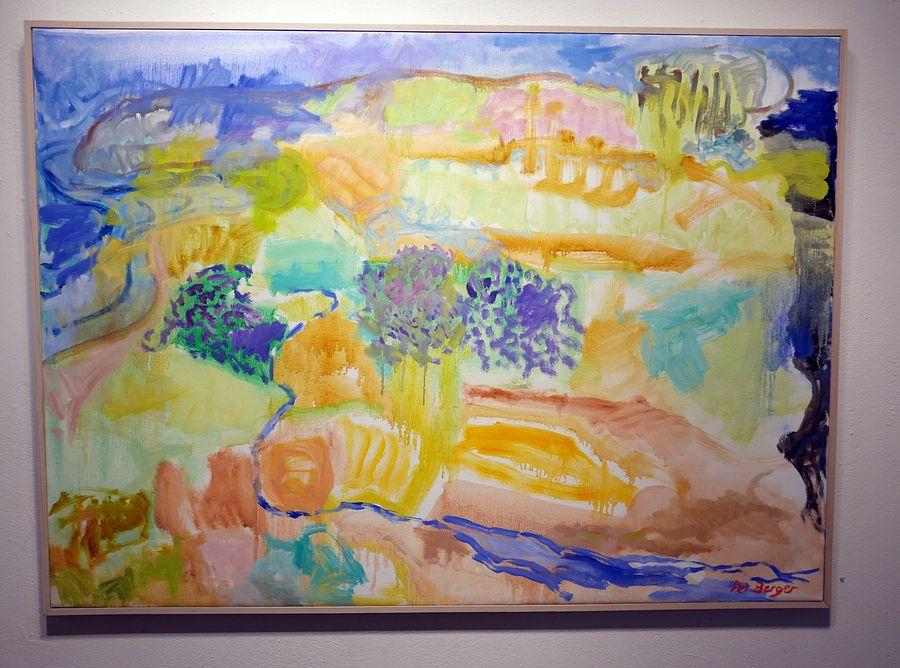 Oljemålning av Per Berger