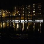 Nattbild Eskilstnaån